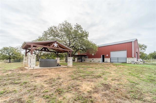 Classic Red Metal Barndominium on a 25-acre Lot